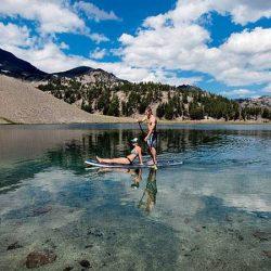 Central Oregon River Adventures paddle boarding